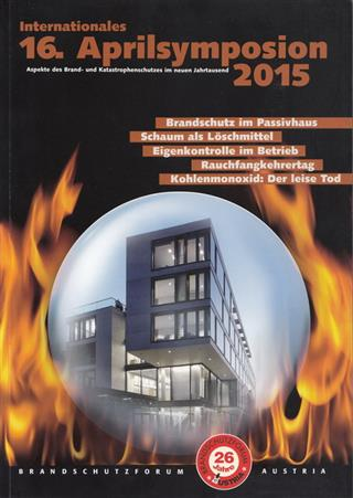 Cover: Dokumentation 16. Symposion 2015